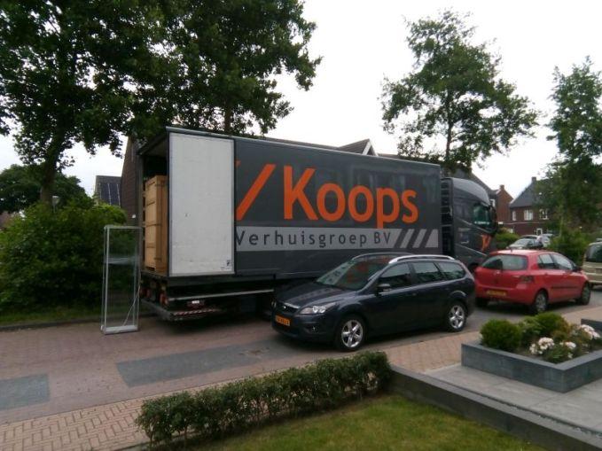 nieuwe huis leek populier minicamper verhuizen